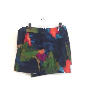 kate spade Skirts - Kate Spade Asymmetrical Abstract Mini Skirt